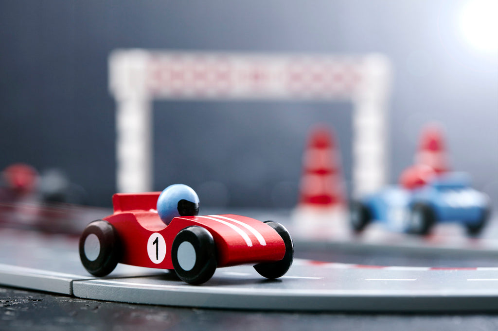 Kids Concept Racing Car Set
