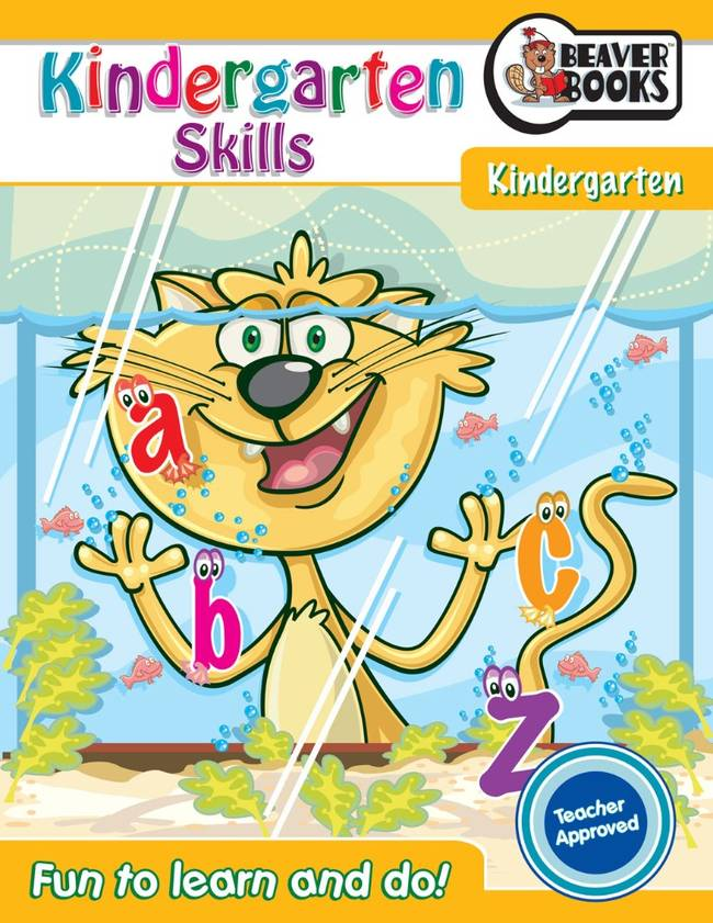 Beaver Learning Books - Kindergarten Skills