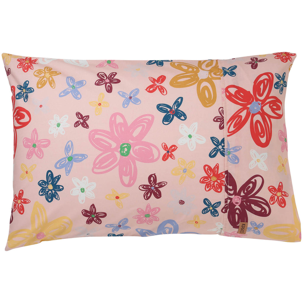 Kip and Co Pillowcase - Pansy