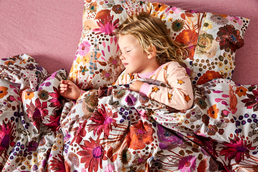 Kip & Co Kids Bedding - Field of Dreams Single Quilt Cover