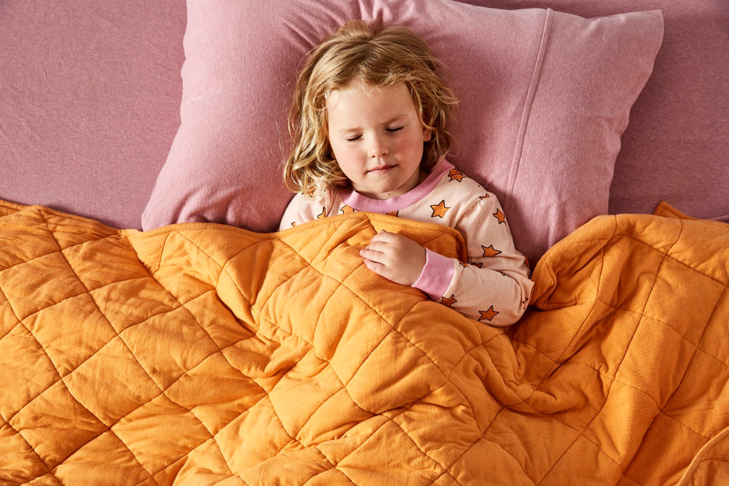 Kip & Co Kids Bedding - Rose Pink Jersey Pillowcase