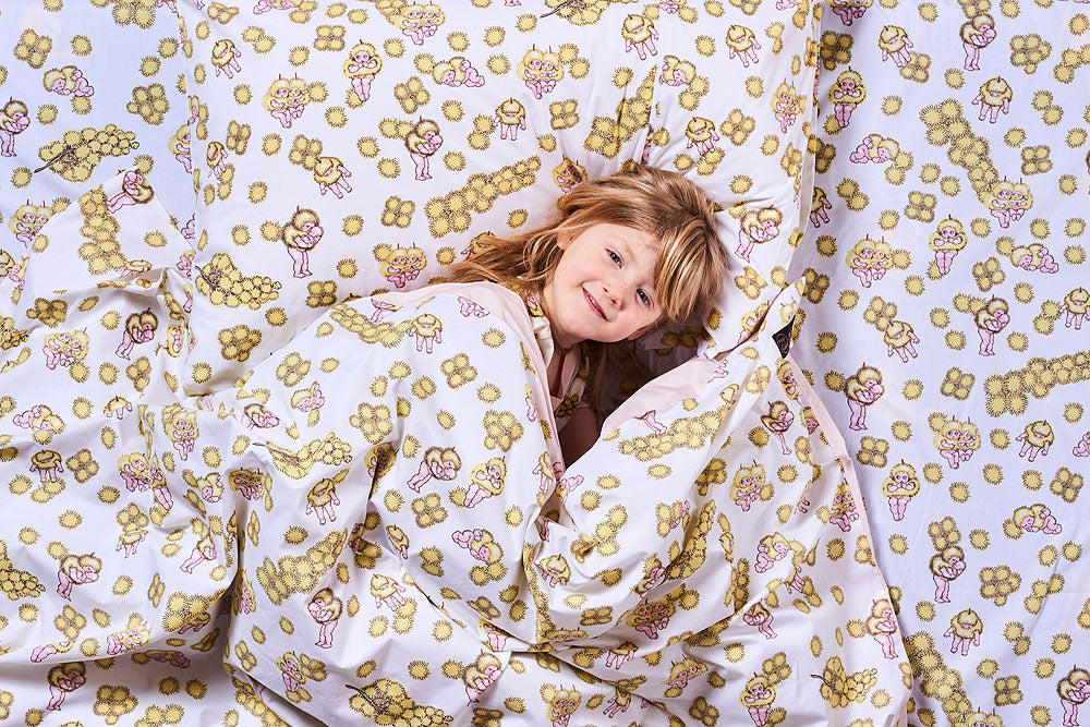 Kip & Co May Gibbs Collaboration  Wattle Babies Pillowcase