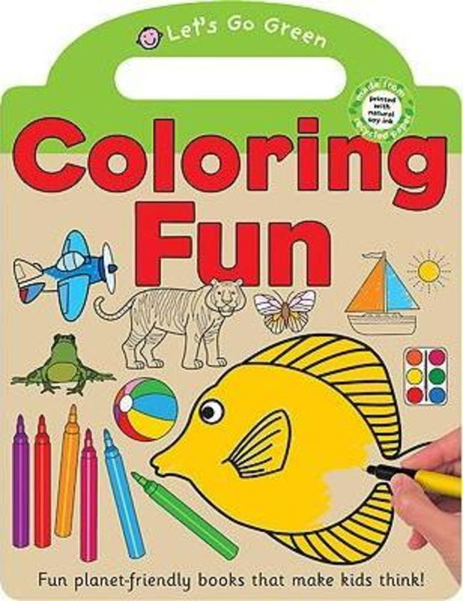 Priddy Learning Books - Colouring Fun