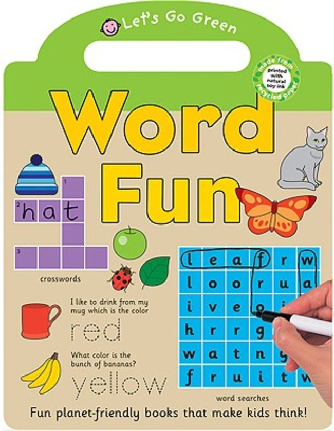 Priddy Learning Books - Word Fun