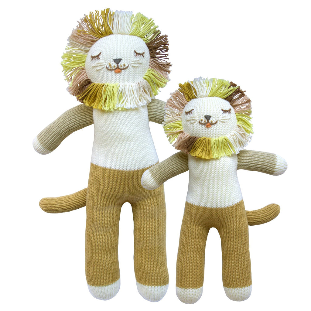blabla Knitted Cotton Doll - Lionel the Lion