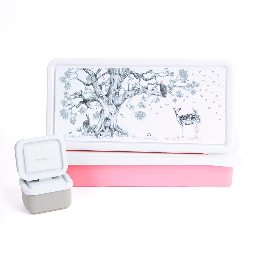 Love Mae Kids Lunch Box - Enchanted Forest