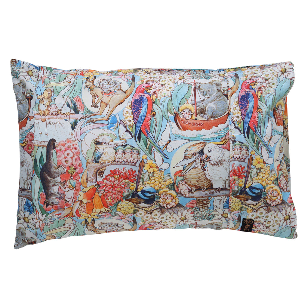 Kip & Co May Gibbs Collaboration  Bush Friends Pillowcase