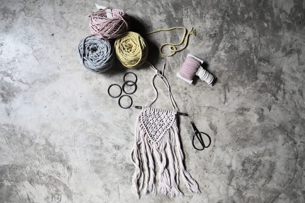 Numero 74 Creative Macrame Kit - Freedom Whisper