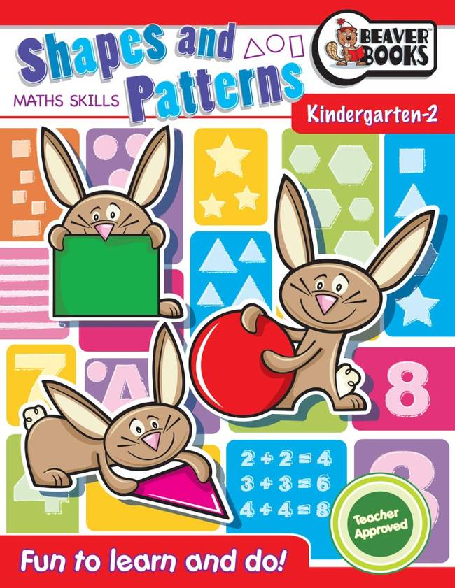 Beaver Learning Books - Maths Skills Shapes and Patterns Kindergarten 2