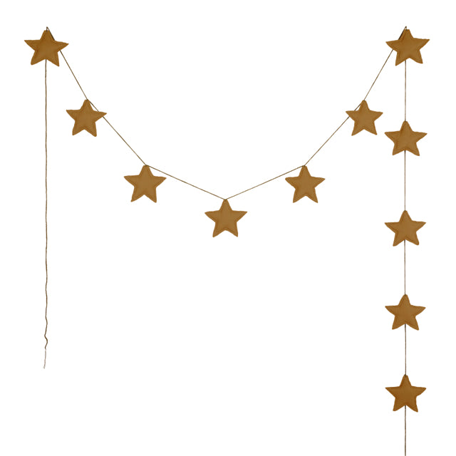 Numero 74 Star Garland - Gold
