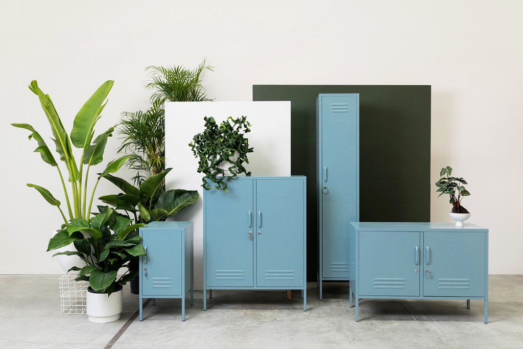Mustard Made Metal Lockers - The Midi in Slate