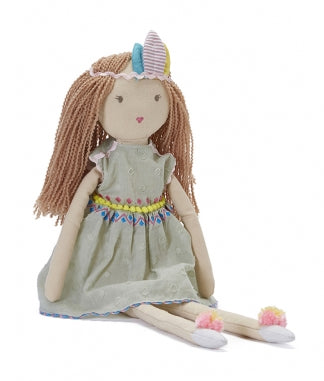 Nana Huchy Dolls Miss Summer Rag Doll