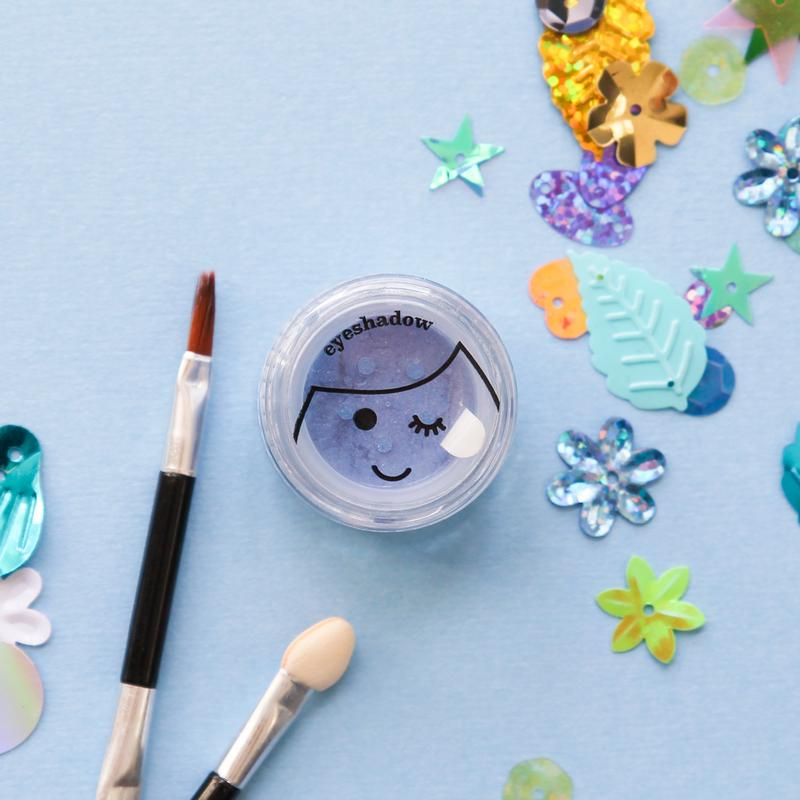 No Nasties Natural Kids Play Makeup - Pretty Purple Play Makeup