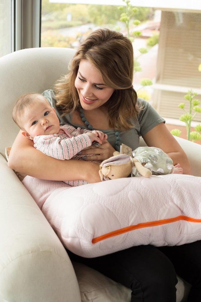 Nook Sleep Niche Organic Nursing Pillow
