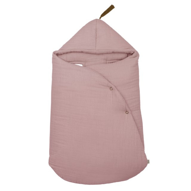 Numero 74 Gipsy Organic Cotton Baby Nest   Dusty Pink