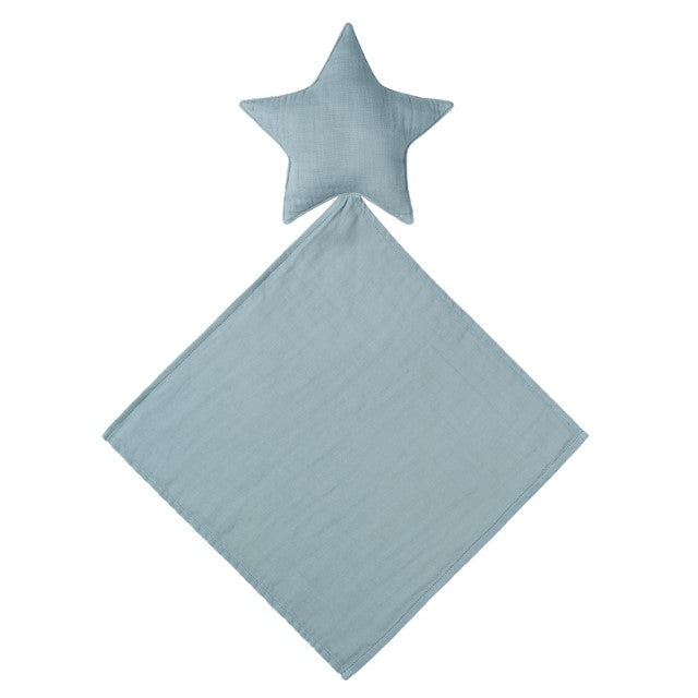 Numero 74 Lovely Star Doudou Organic Cotton Comforter - Sweet Blue