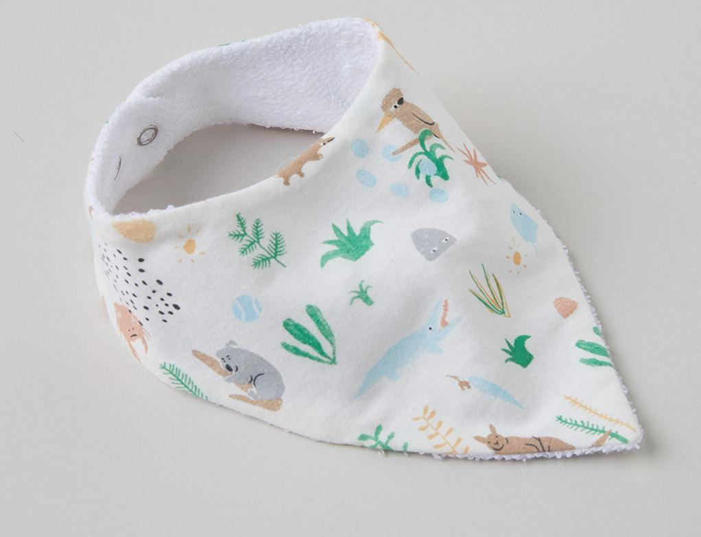 Halcyon Nights Outback Dreamers Dribble Bib