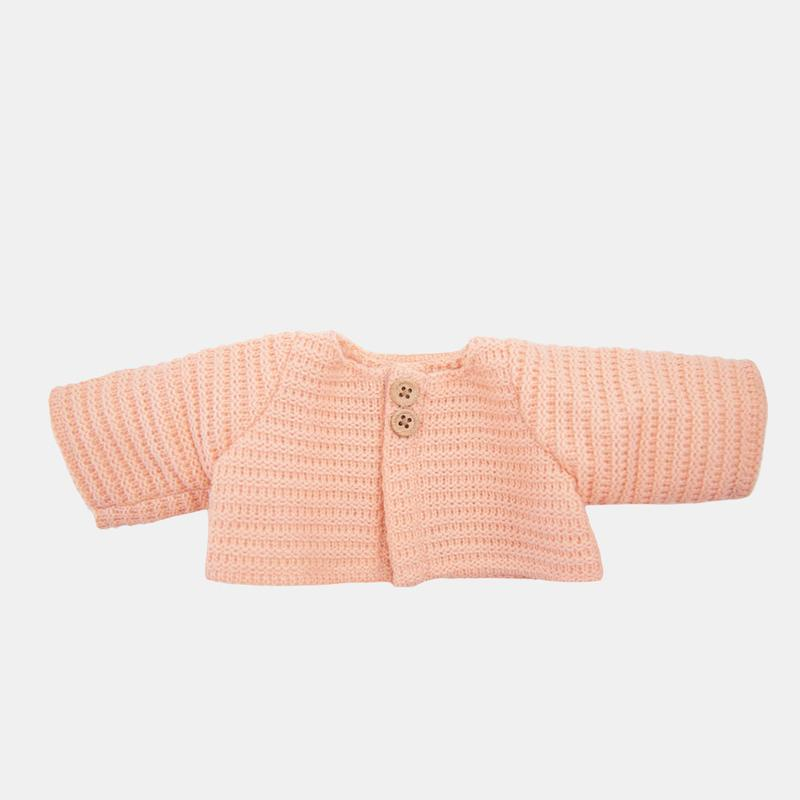 Olli Ella - Dinkum Doll Cardigan in Rose