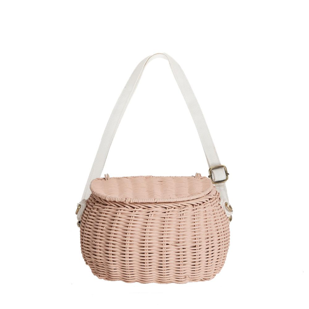 Olli Ella Mini Chari Bag - Rose Pink