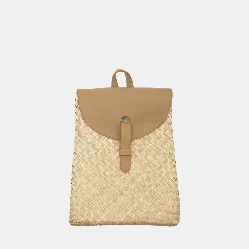 Olli Ella Nami Mini Rattan Backpack