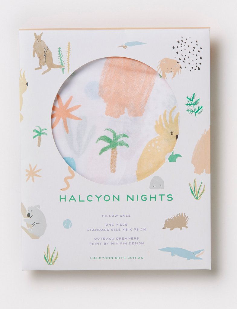 Halcyon Nights Outback Dreamers Pillowcase