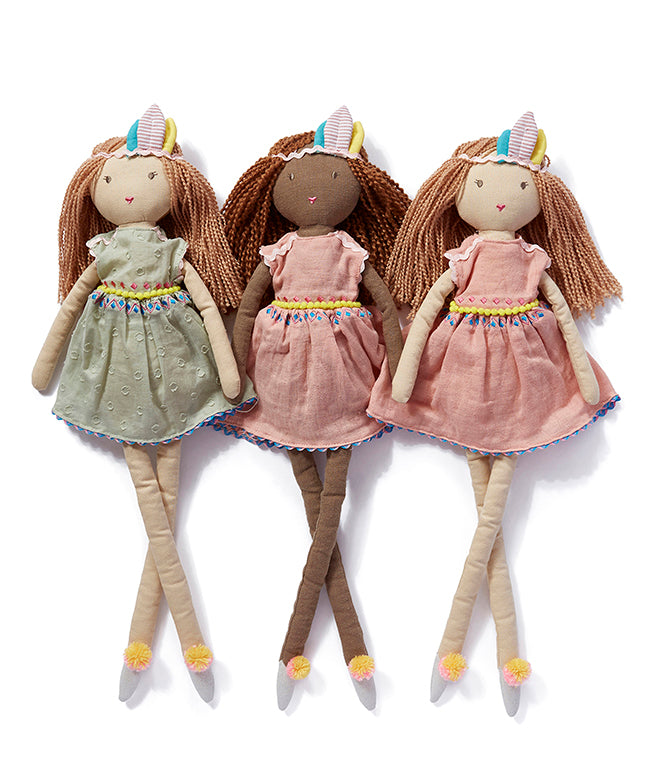 Nana Huchy Dolls Miss Willow Rag Doll