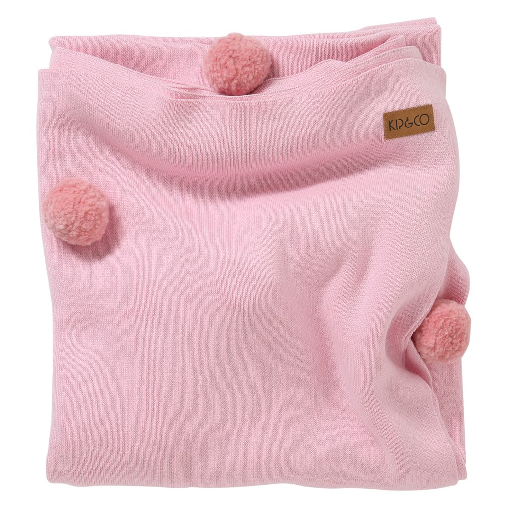 Kip & Co Kids Bedding - Candy Cotton Pom Pom Blanket
