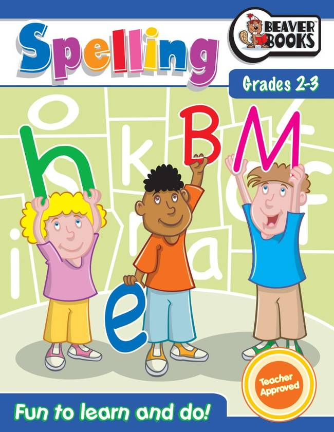 Beaver Learning Books - Spelling Grade 2-3
