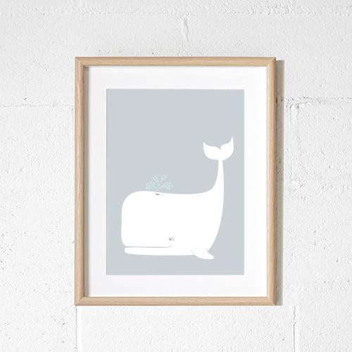 Sprout and Sparrow Whale Kids Wall Art