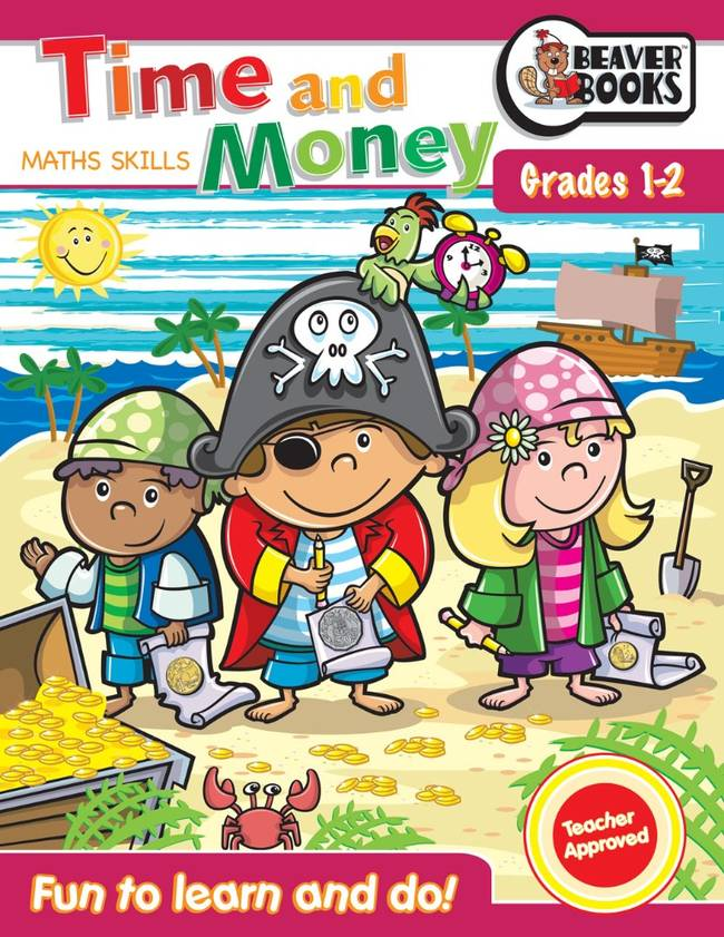 Beaver Learning Books - Maths Skills Time and Money