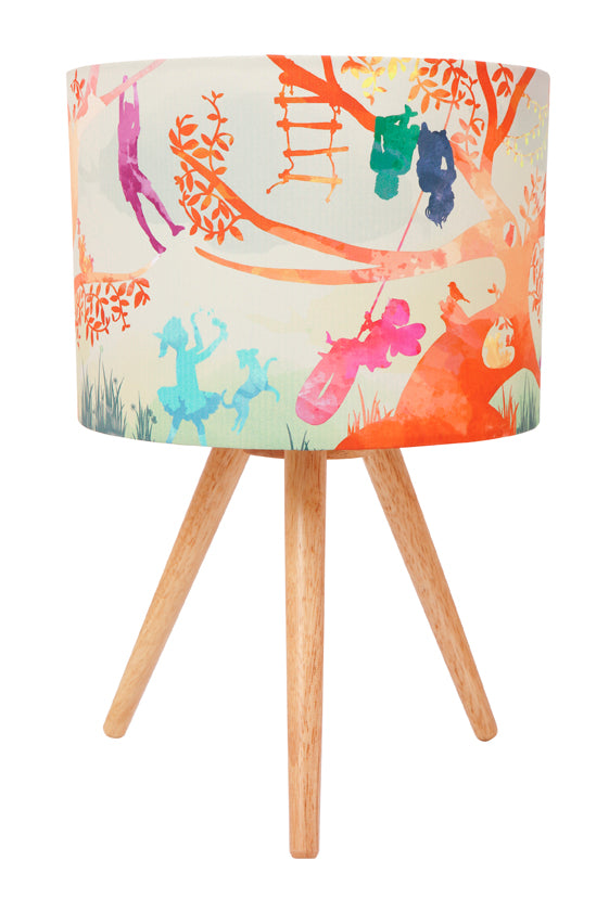 Micky & Stevie Kids Lamp  Treehouse Colour Design