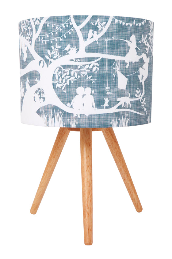 Micky & Stevie Kids Lamp  Treehouse Grey Design