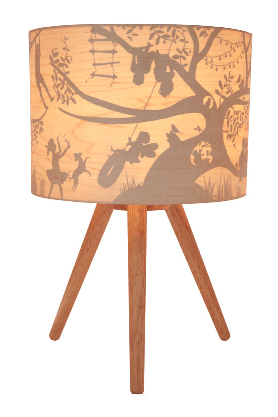 Micky & Stevie Kids Lamp  Treehouse Timber Design