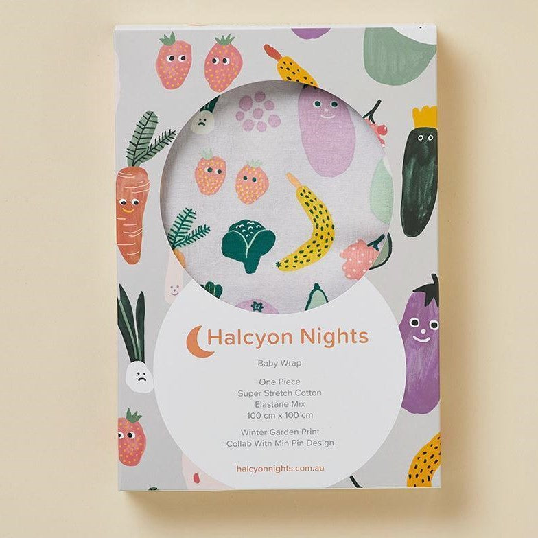 Halcyon Nights Winter Garden Baby Swaddle Wrap