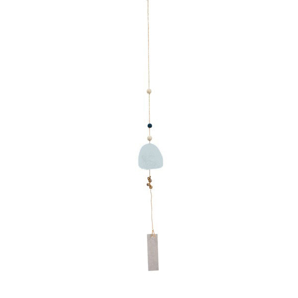 Muskhane Handmade Windbell  Light Blue
