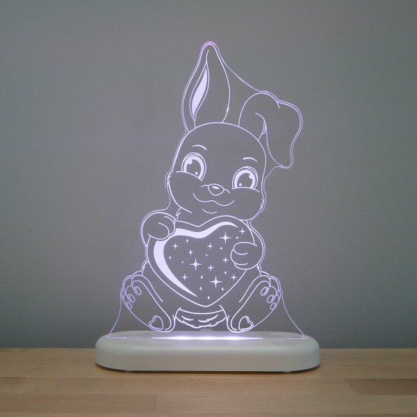 Aloka LED Sleepy Light Kids Night Light  Bunny