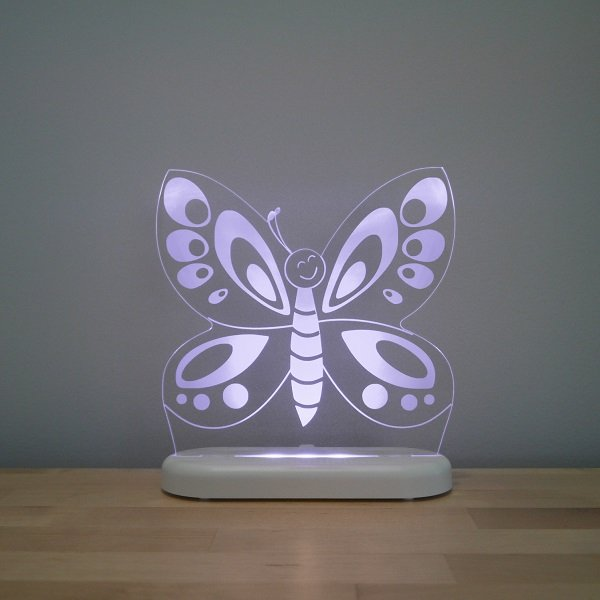 Aloka LED Sleepy Light Kids Night Light  Butterfly
