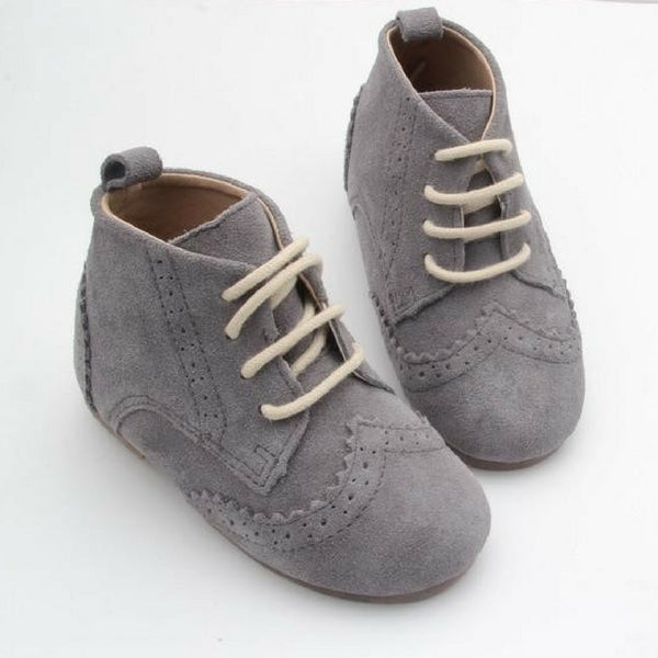 Anchor & Fox Cambridge Brogue Grey Suede