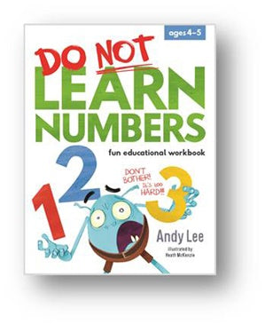 Do Not Learn Numbers Workbook