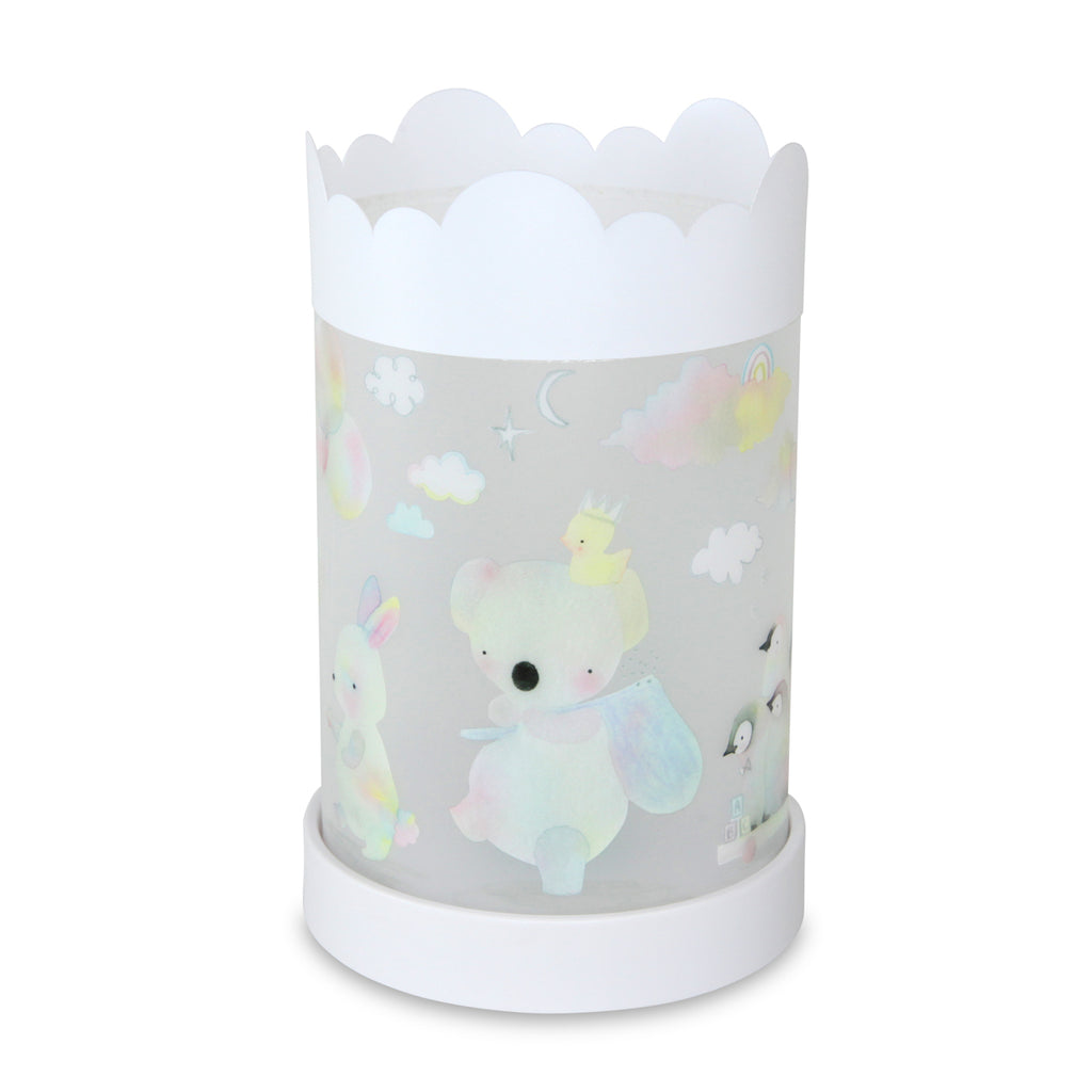 Teeny and Tiny Animal Parade Kids Lamp