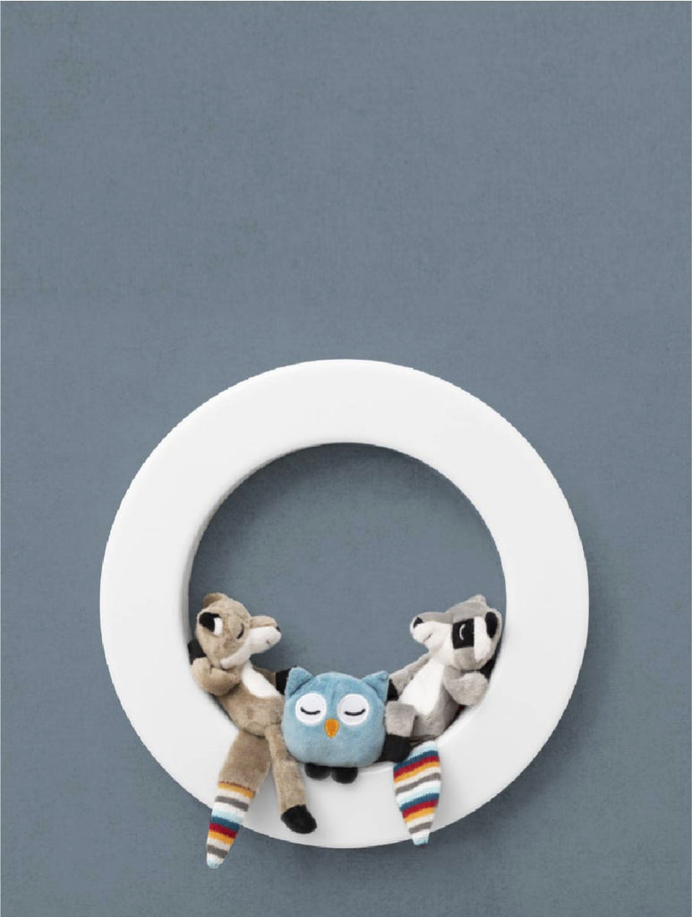ZAZU Rechargeable Wall Light with Plush Toys