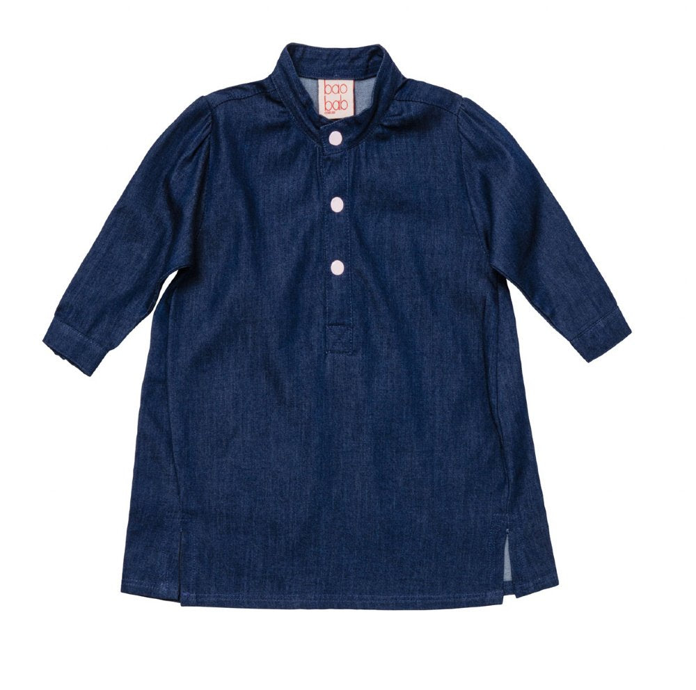 Baobab Baby Denim Shirt Dress