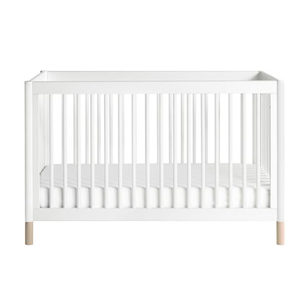 Babyletto - Gelato 3 in 1 Cot - White With Washed Natural Feet