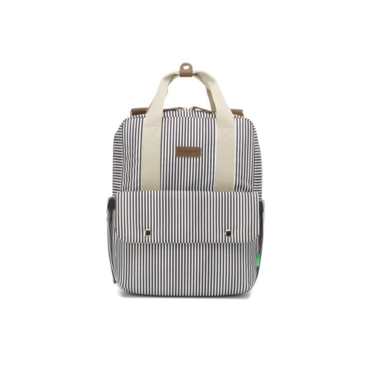 Babymel Nappy Bag - Georgi Eco Navy Stripe