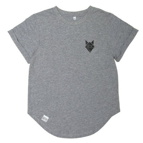 Band of Boys Bones T Shirt Grey