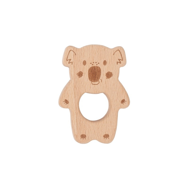 Banjo Kippin Natural Beech Wood Teething Toy