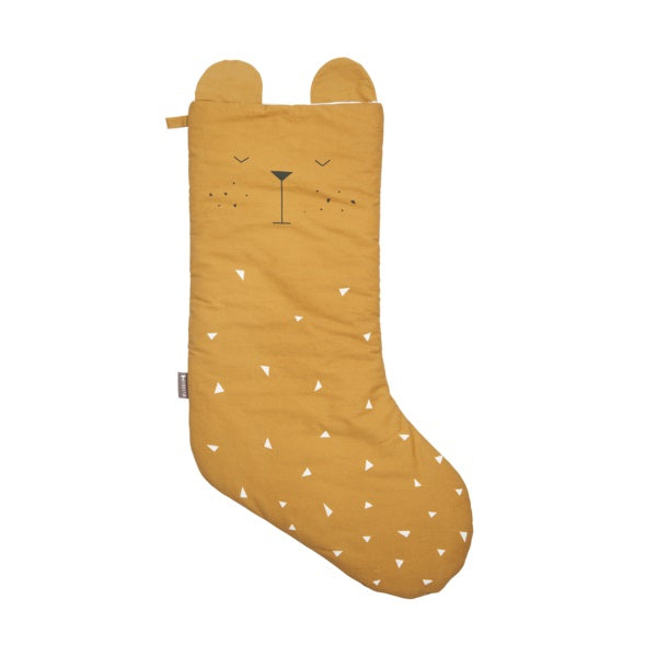 Fabelab Christmas Stocking Mustard Bear