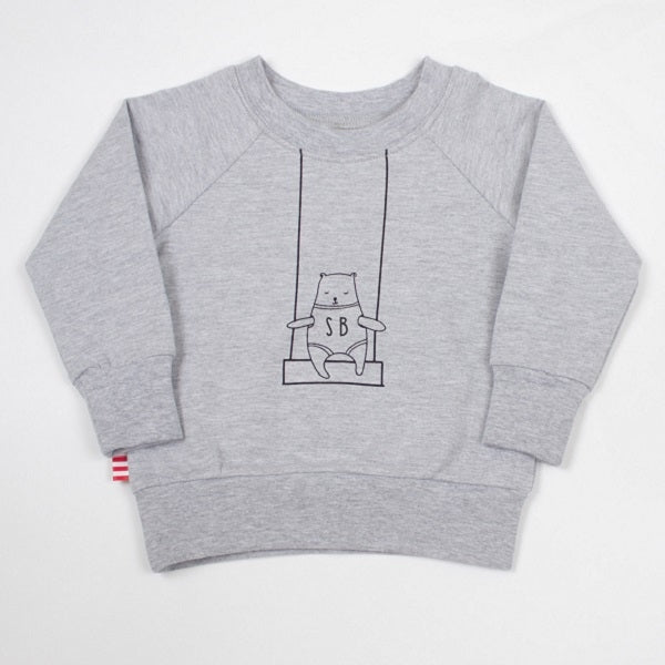 SOOKIbaby Bear On A Swing Sweatshirt
