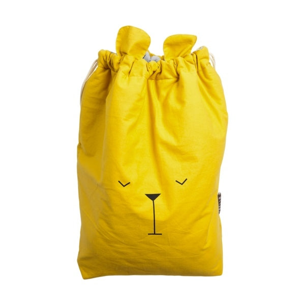Fabelab Canvas Storage Bag Lazy Bear