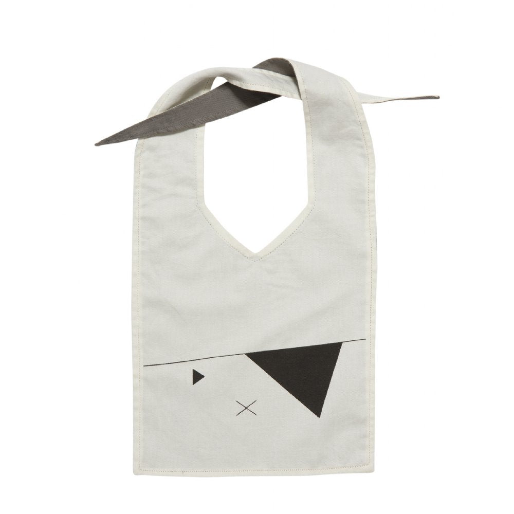 Fabelab Baby Bib Pirate Grey